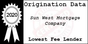 2020 SUN WEST MORTGAGE COMPANY  Low Fee Award