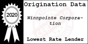 2020 WINNPOINTE CORPORATION Low Rate Award