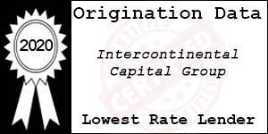 2020 InterContinental Capital Group Inc Low Rate Award