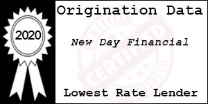 2020 NEW DAY FINANCIAL  Low Rate Award