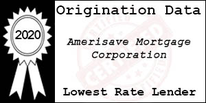 2020 AMERISAVE MORTGAGE CORPORATION Low Rate Award